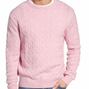 Vineyard Vines Wool & Cashmere Cable Knit Sweater